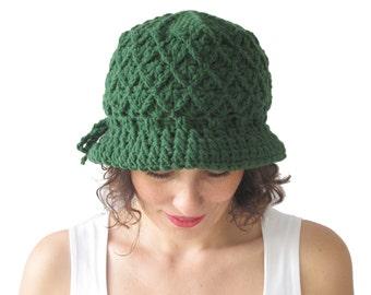 NEW! Green Pretty Woman Hat