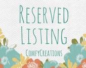 Reserved Listing for Lisa/ Neck wrap eye pillow set