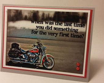 Motorcycle Card for Bikers