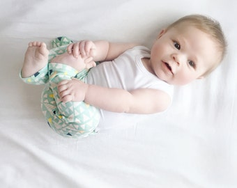 Mojave Knit Cotton Leggings // Preemie-24 mos.