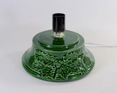 Replacement Ceramic Christmas Tree Base Atlantic Holly Green made to order