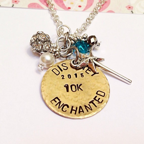 Enchanted 10k STAMPED Pendant