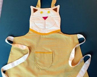 Child Kitty Cat Apron