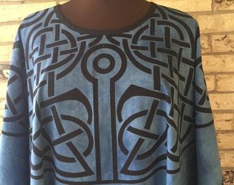 Plus Size 100% Cotton Celtic Caftan/Tunic
