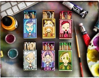 Clue Matchbox Painting Series Version 2017