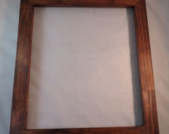 12x14 Maple Medium Brown dye Picture Frame