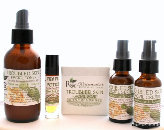 Troubled Skin Deluxe Facial Kit
