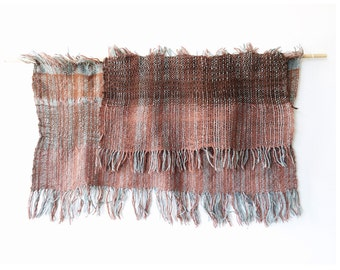 Vintage Weaving - wall hanging, artisan weaving, desert colors