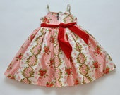 SAMPLE SALE -  Juliet Dress in Vintage Holiday  - Size 12...  Classic beauty!
