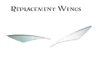 Replacement Silver Wings