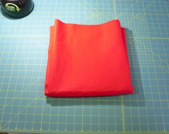Primary Red  100% cotton fabric .... 2 yards 11 inches