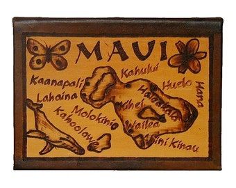 MAUI - Leather Travel Photo Album - Handcrafted