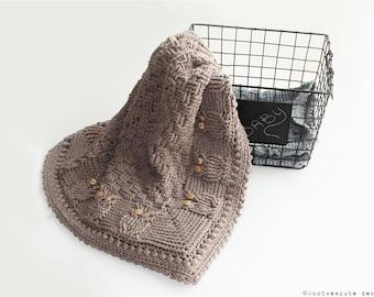 CROCHET PATTERN - Basket of Owls Baby Blanket - Instant Download (PDF)