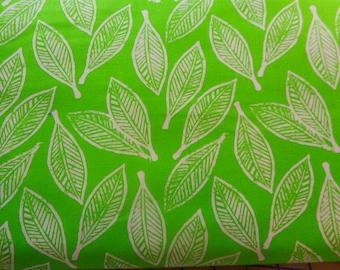 MODA Horizon green fabric - CLEARANCE @ 4 dollars a yard