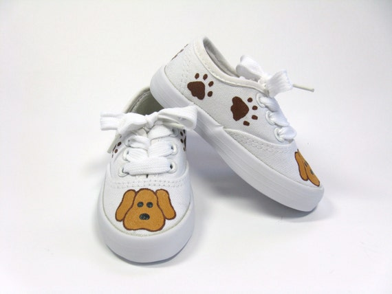 Dog Paw Print Sneakers