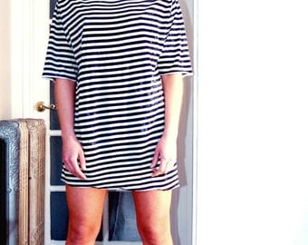 Vintage Striped Tunic