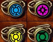 Steampunk Jewelry - Ring - Lantern