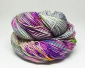 Dyed to order Hand Dyed Yarn - Unicorn Boogers