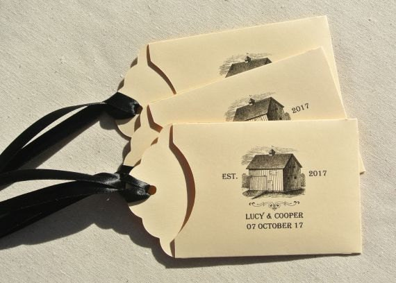 Rustic Wedding Favors - Country Wedding Favors - Barn Wedding Favors