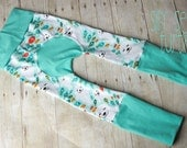 Maxaloones, Silly Seal cloth diaper pants, grow with me pants, babywearing pants