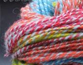 Handspun Yarn: Rainbow Connection Residual Skein #2 2-ply Bulky