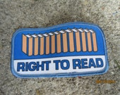 Girl Scout Right to Read Patch