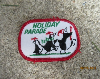 Girl Scout Holiday Parade Patch