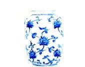 Chinoiserie, Vase, Ming Vase, Ginger Jar Print, Blue and White Vase, Fine Art Print, Still Life, Home Decor, Art Decor