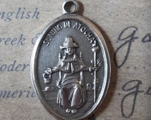 HUGE SALE Santo Niño De Atocha Holy Italian Medal, Pray For Us