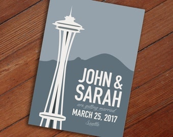 Save the Date: Seattle Space Needle