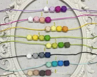 Teething Necklace, Food Grade Silicone, Etsy Mama, Silicone Teething Beads