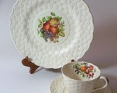 Copeland Spoke Luncheon 3 piece set, Made in England, Signed and Numbered