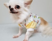 Dog Clothes Sweet Tropical Vacation Tshirt, Chihuahua, Yorkie