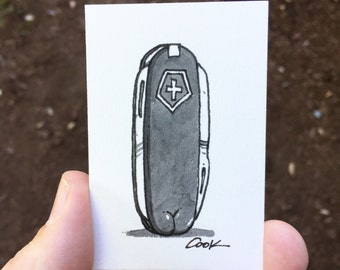 Knife with a BUTT mini illustration
