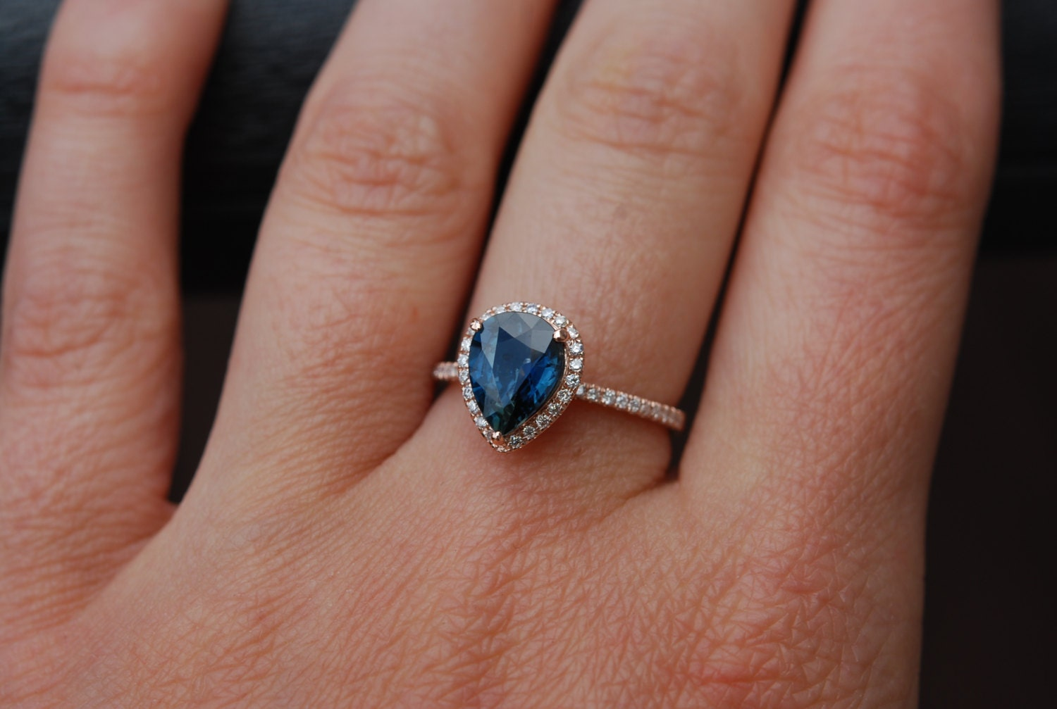 sapphire engagement rings by