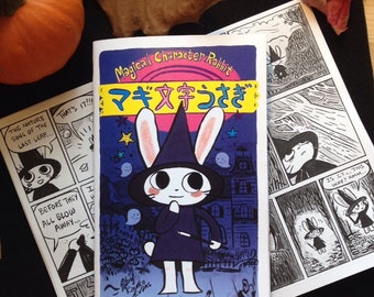 Magical Character Rabbit Comic Zine