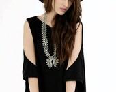 SALE 20% BABOOSHKA Peek A Boo Oversized TShirt Dress  (colors)