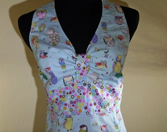Owl Full Length Apron