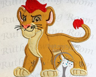 Lion Guard Kion  Applique Embroidery Design This is NOT A PATCH