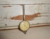 Vintage Map Scale Meter, Curvimeter, Drafting Tool, Map Scale Wheel