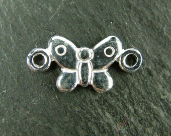 Sterling Silver Butterfly Connector 13.5mm (CG5612)