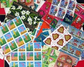 600 vintage Canadian Lung Association seals stamps for your art projects 1960s and 70s