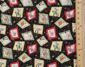 Michael Miller Pos-n-Pans Fabric 1/2 Yard