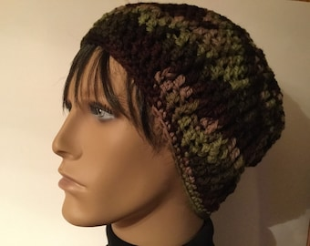 Camouflage Men's Slouchy Hat
