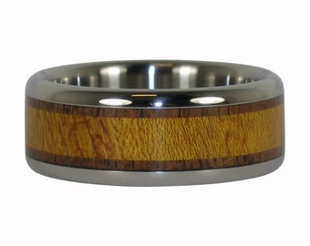 Walnut and Osage American Wood Ring Bands