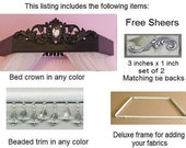 bed crown canopy, all included package,