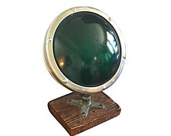 Large Green Spotlight, Works Well, Vintage Theatre Lamp, Stage Lighting