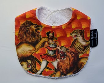 FREE NATIONAL SHIPPING-Unique Baby Bib. Exclusively designed baby bib from Barcelona.