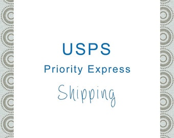 Priority Express Shipping Rate From handcraftusa (only for customers in the Continental United States)