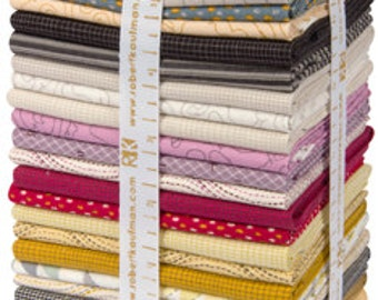 Studio Stash 3 by Jennifer Sampou, Warm colorstory Jennifer Sampou for Robert Kaufman 26 Fat Quarter Bundle FQ-1047-26